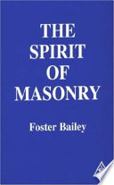 The Spirit of Masonry