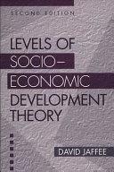 Levels of Socio-economic Development Theory