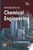 Introduction To Chemical Engineering book