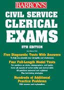 Barron s Civil Service Clerical Exams