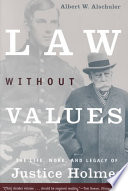 Law Without Values