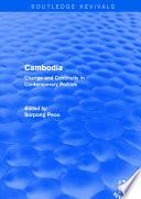 Revival  Cambodia  Change and Continuity in Contemporary Politics  2001