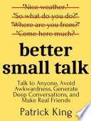 Book Better Small Talk