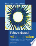 Educational Administration  Theory  Research  and Practice