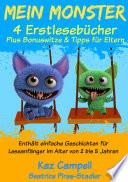Mein Monster – 4 Erstlesebücher – Plus Bonuswitze & Tipps für Eltern