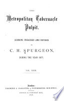 Sermons of the Rev  C H  Spurgeon  of London Book PDF