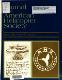 Journal of the American Helicopter Society