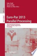 Euro Par 2013  Parallel Processing