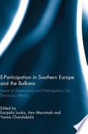 E Participation in Southern Europe and the Balkans