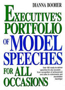 Executive's Portfolio of Model Speeches for All Occasions Pdf/ePub eBook