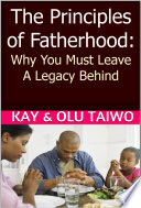 Principles of Fatherhood  aka The Progenitor Principle