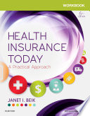 Workbook for Health Insurance Today   E Book