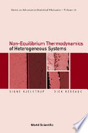 Non equilibrium Thermodynamics of Heterogeneous Systems