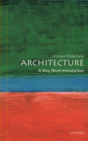 Architecture: A Very Short Introduction Book