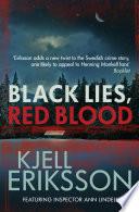Black Lies Red Blood book