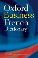 illustration du livre The Oxford Business French Dictionary