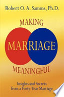 Making Marriage Meaningful