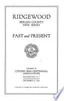 Ridgewood  Bergen County  New Jersey  Past and Present