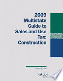 Multistate Guide to Sales and Use Tax: Construction