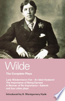 Wilde Complete Plays