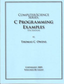 Computer Science Series  C Programming Examples