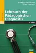 Lehrbuch der pädagogischen Diagnostik