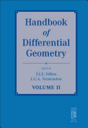 Handbook of Differential Geometry