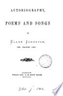 Autobiography  Poems  and Songs