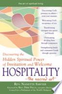 Hospitality  the Sacred Art