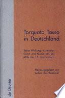 Torquato Tasso in Deutschland