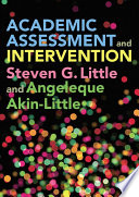 Academic Assessment and Intervention