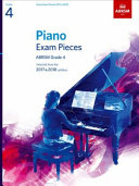 Piano Exam Pieces 2017   2018  Grade 4