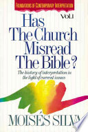 Has the Church Misread the Bible