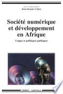 illustration Société numérique et développement en Afrique, usages et politiques publiques