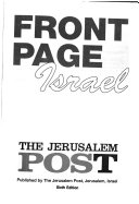 Front Page Israel