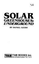 Solar Greenhouses  Underground