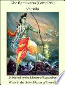 The Ramayan of Valmiki