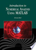 Introduction to Numerical Analysis Using MATLAB