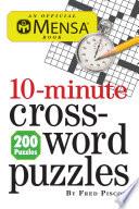 Mensa 10 Minute Crossword Puzzles