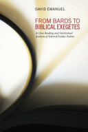 download ebook from bards to biblical exegetes pdf epub