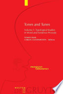 Tones and Tunes  Typological studies in word and sentence prosody