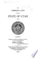 The Compiled Laws of the State of Utah  1917