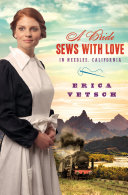 A Bride Sews with Love in Needles  California