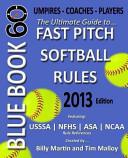 Blue Book 60   Fast Pitch Softball
