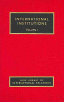 International Institutions: Consequences: when, where, and why international institutions are effective