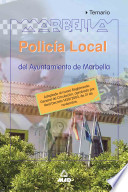 Policia Local Del Ayuntamiento de Marbella. Temario Ebook