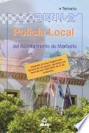 Policia Local Del Ayuntamiento de Marbella  Temario Ebook