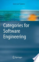 Categories for Software Engineering