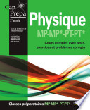 Physique MP MP  PT PT