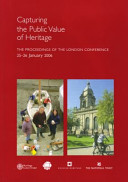 Capturing the Public Value of Heritage